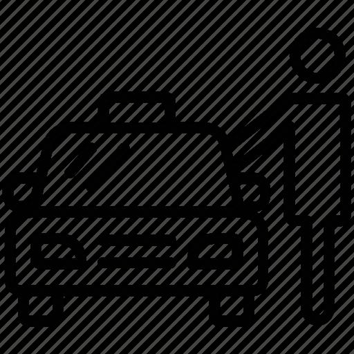 Cab Car Hire Car Rental Hiring Taxi Rent A Car Icon