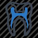 dental health, dental onlays, dentistry icon