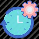 management, skills, time icon
