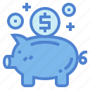 bank, coin, finance, piggy, saving