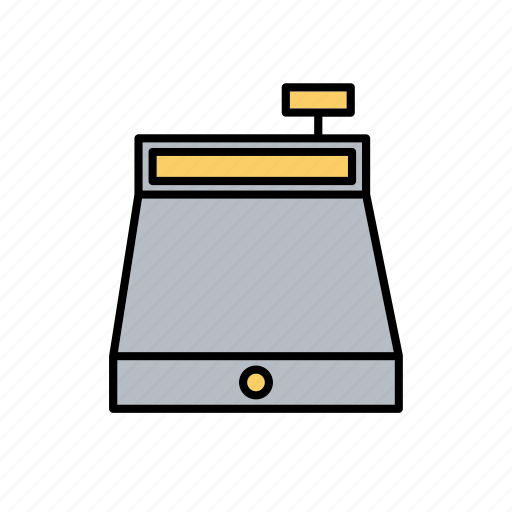 business, buying, money, pay desk, payment, retail, selling icon