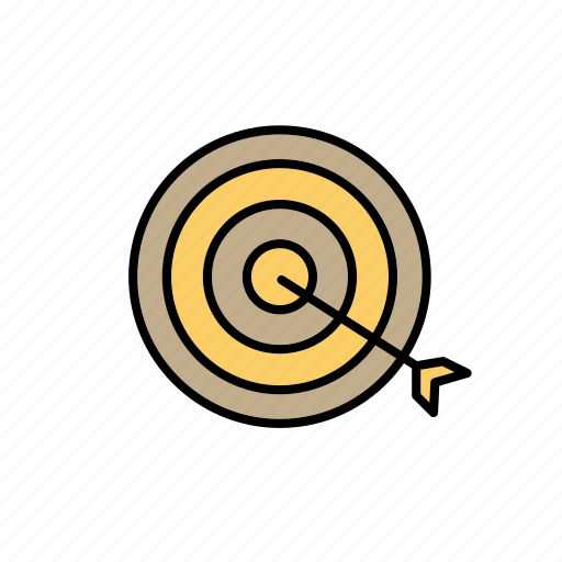 aim, business, company, development, goal, retail, target icon