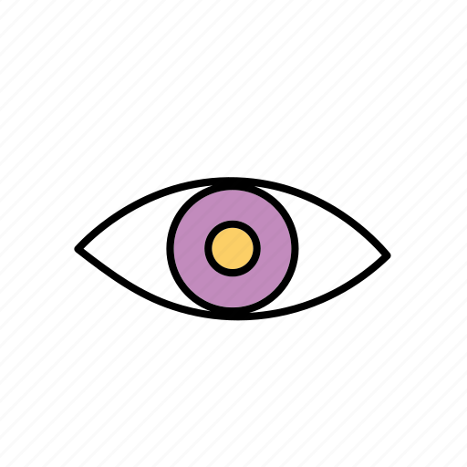 business, eye, looking, monitoring, overview, retail, seeing icon