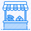 food stall, local marketplace, roadside food, shop, street food, vendor food
