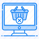 cancel order, cancellation policy, ecommerce, order delete, remove from cart, wrong order icon