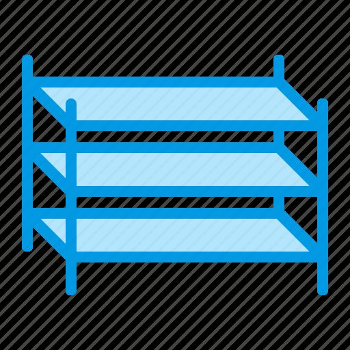 shelves, shelving, storage, store, warehouse icon