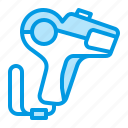 gun, label, pricing icon