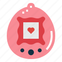game, pet, retro, tamagotchi icon