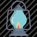 oil, lamp