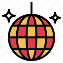 ball, club, dance, disco, party icon