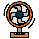 electronics, fan, furniture, technology icon