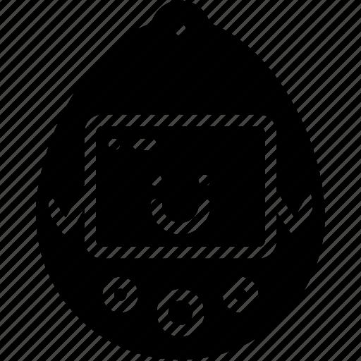 pet, retro, solid, tamagotchi, tech, virtual icon