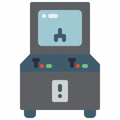 arcade, machine, mame, retro, tech, video game icon