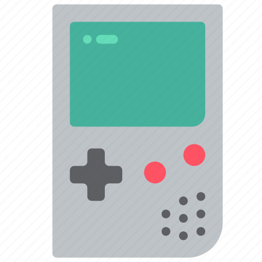 console, gameboy, nintendo, retro, tech, video game icon