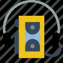 sony, audio, tech, retro, walkman