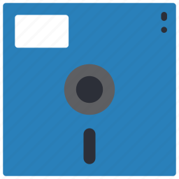 data, disk, diskette, floppy, retro, storage, tech icon