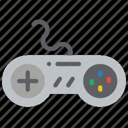 controller, nintendo, retro, snes, tech, video games icon