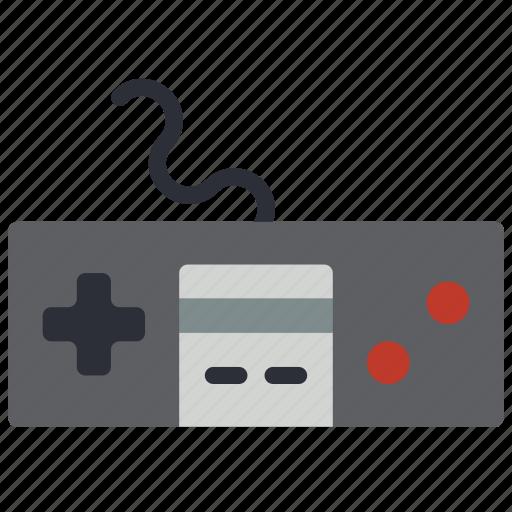 controller, nes, nintendo, retro, tech, video games icon