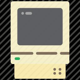 apple, classic, mac, macintosh, pc, retro, tech icon
