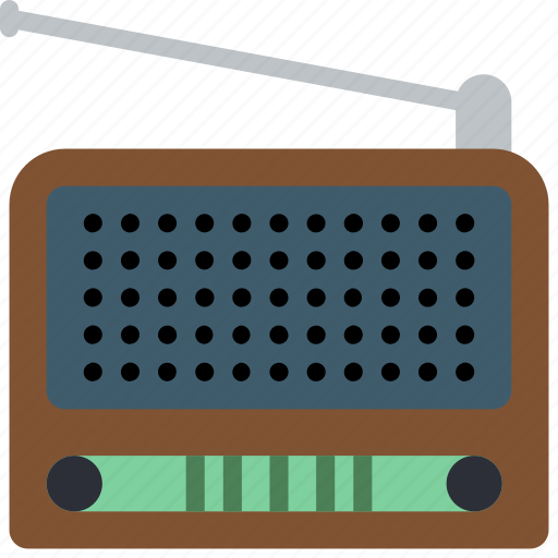 audio, portable, radio, retro, tech, wireless icon