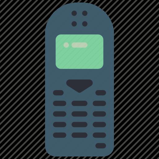 mobile, phone, retro, tech, telephone icon