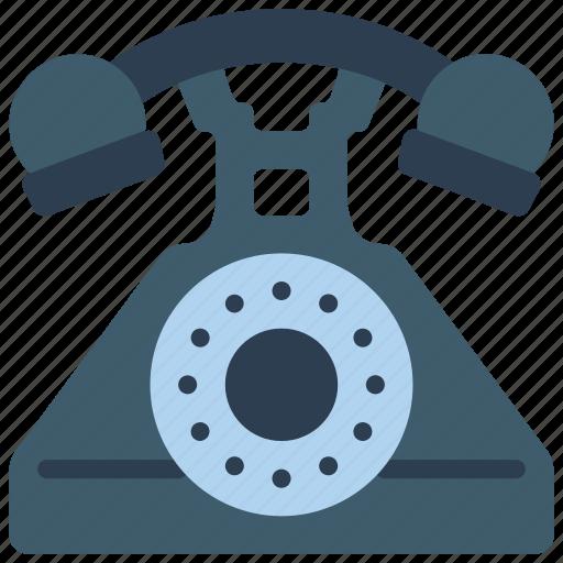 phone, retro, tech, telephone icon