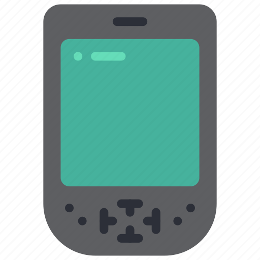computer, palm, pc, pilot, portable, retro, tech icon