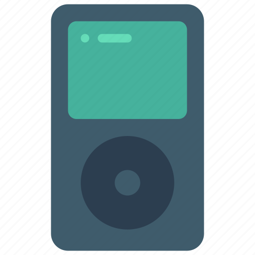 audio, ipod, mp3, player, portable, retro, tech icon