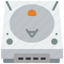 console, dreamcast, retro, tech, video game icon