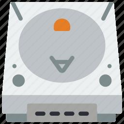 console, dreamcast, retro, tech, video game icon