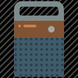 audio, radio, retro, tech icon