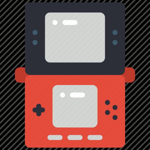 dsi, game, handheld, portable, retro, tech, video icon