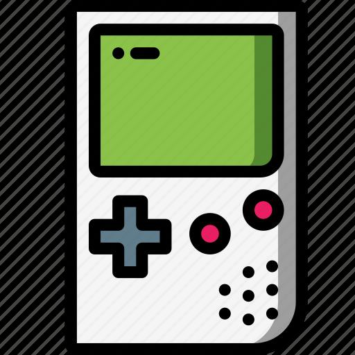 condole gameboy handheld nintendo retro tech video game icon