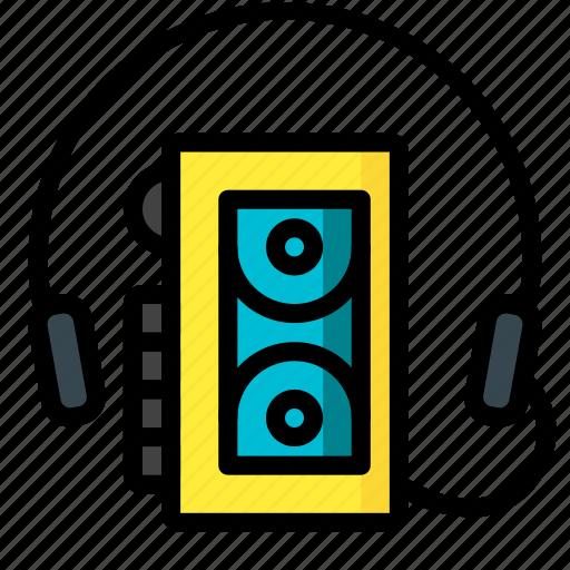 Retro, tech, ultra, walkman icon - Download on Iconfinder