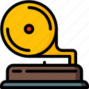 gramophone, music, player, record, retro, stereo, tech