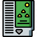 cartridge, game, nes, retro, triforce, video game, zelda icon