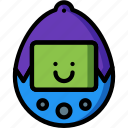 game, pet, retro, tamagotchi, toy, virtual, virtual pet icon