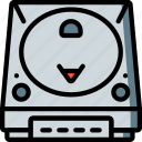 console, dreamcast, game, home, retro, sega, video games icon