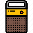 radio, retro, wireless icon