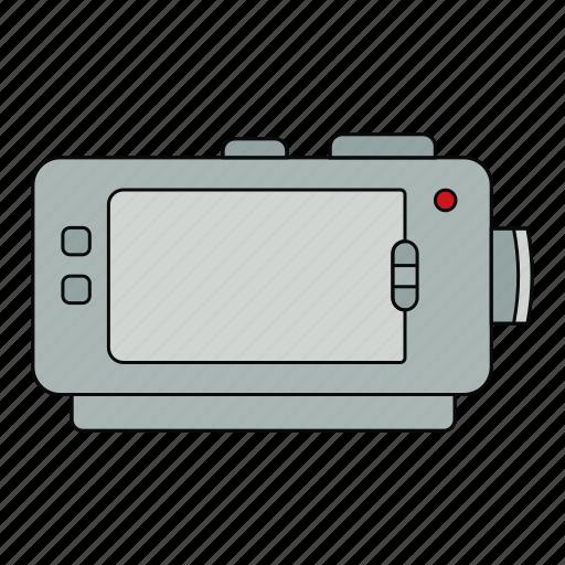 camera, make, movie, moviemaker, retro, video icon