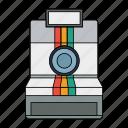 camera, colorful, colors, photo, photograher, retro icon
