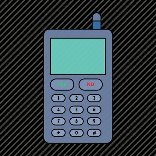 call, cell, mobile, nokia, retro, samsung, telephone icon