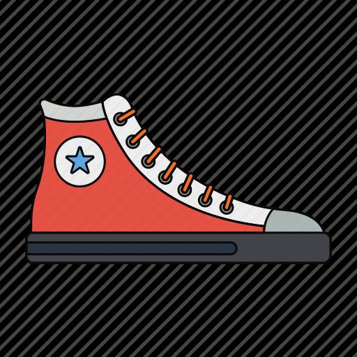 boots, fashion, men, orange, retro, shoes, wear icon