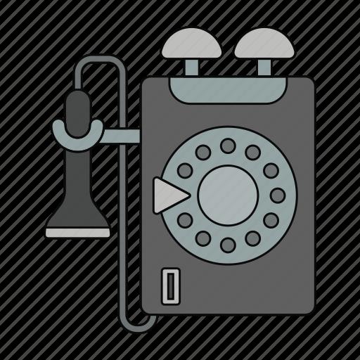 alo, call, calling, number, phone line, retro, telephone icon