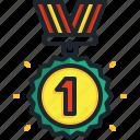 gold, medal, best, first, sports, winner