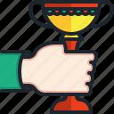 success, achievement, gestures, trophy, triumph