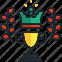 trophy, sports, competition, reward, crown