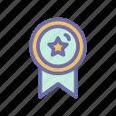 archievement, badge, medal, reward icon