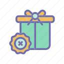 archievement, badge, gift, medal, reward icon