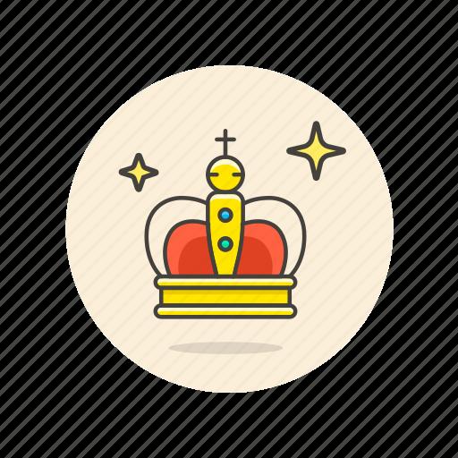 achievement, award, chess, crown, king, prize, reward icon